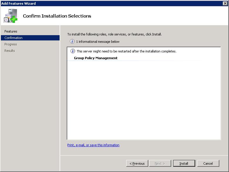 GPMC Installation Step 4